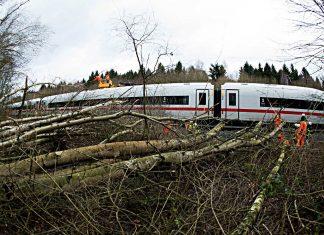 Ein Zuug der Deutschen Bahn in Niedersachsen. Foto: dpa