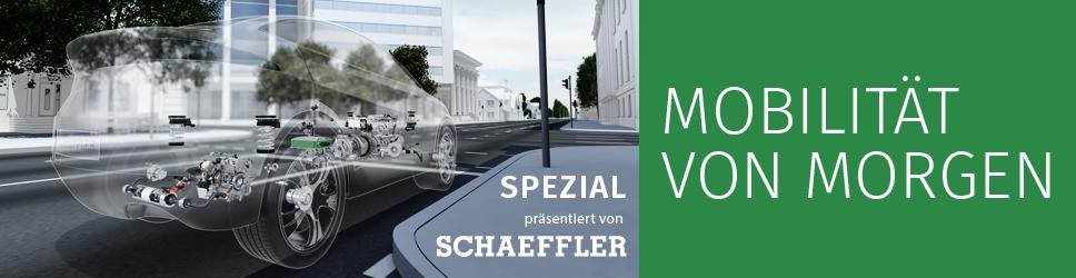 Schaeffler präsentiert Mobilität von Morgen.