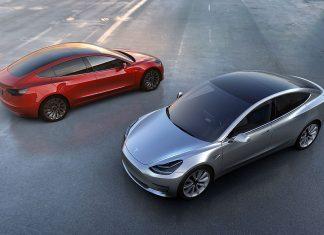 Das Tesla Model 3. Foto: Tesla