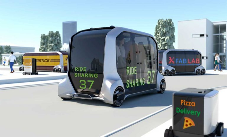 Toyota e-Palette: Autonom für fast alles
