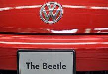 Heck eines VW Beetle. Foto: dpa