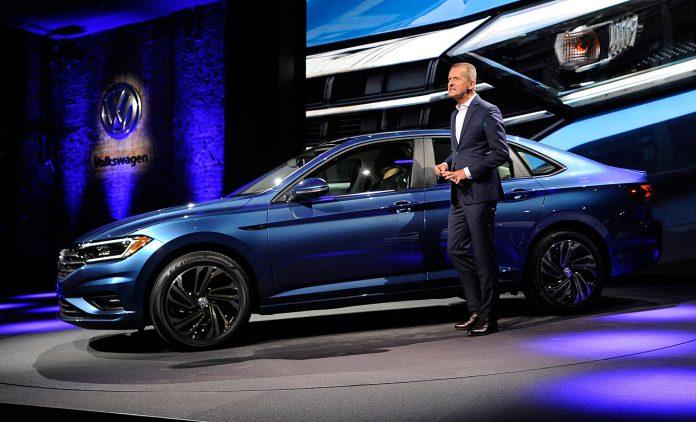 VW-Markenchef Herbert Diess. Foto: dpa