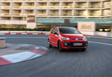 Der VW Up GTI. Foto: VW