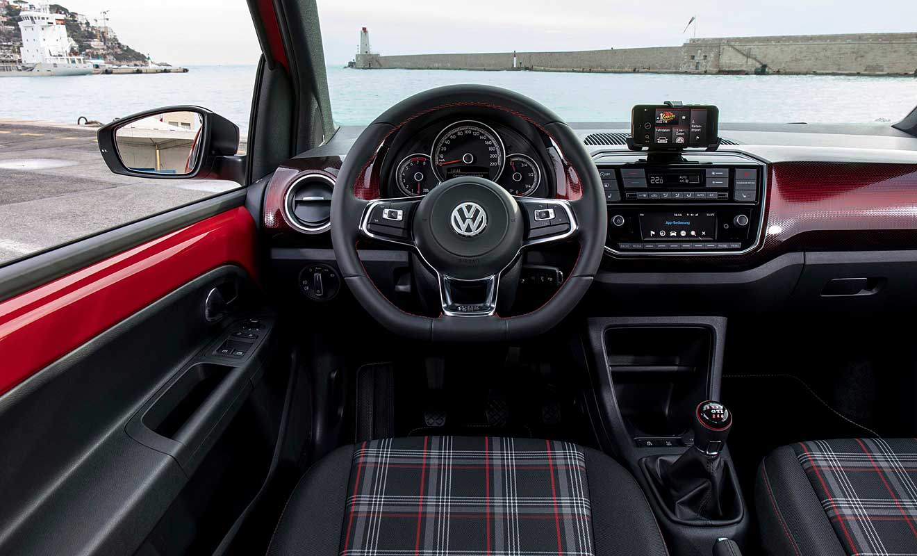 vw up gti der kleine f r das image. Black Bedroom Furniture Sets. Home Design Ideas