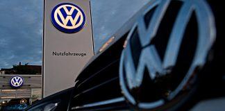 VW-Händler. Foto: dpa
