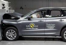 Der Volvo XC60 beim Crashtest. Foto: EuroNCAP