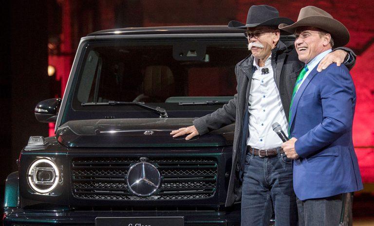 Neue Mercedes G-Klasse landet im Hier und Heute