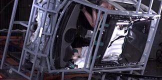 Crashtest mit Dummy. Foto: Hyundai