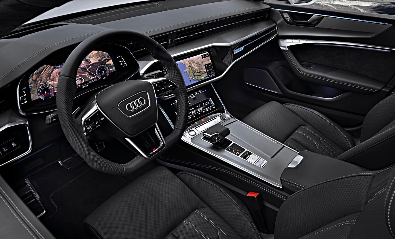Cockpit des Audi A7 Sportback. Foto: Audi
