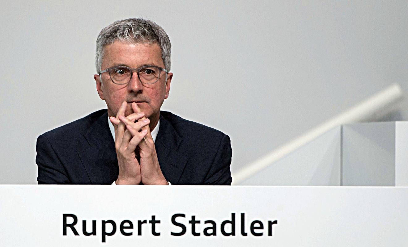 VW-Chef Müller: Audi-Chef Stadler nicht auf der Kippe