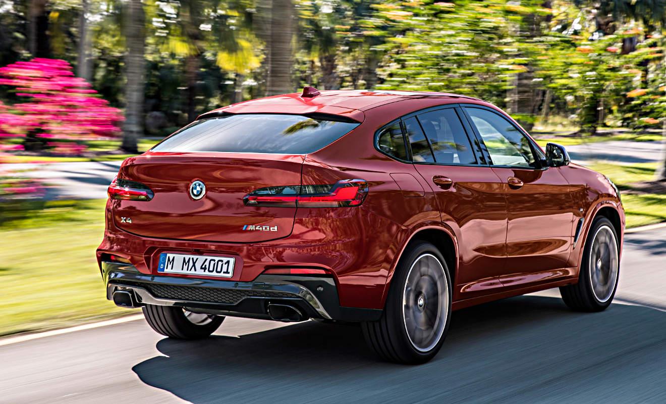 Heck BMW X4. Foto: BMW
