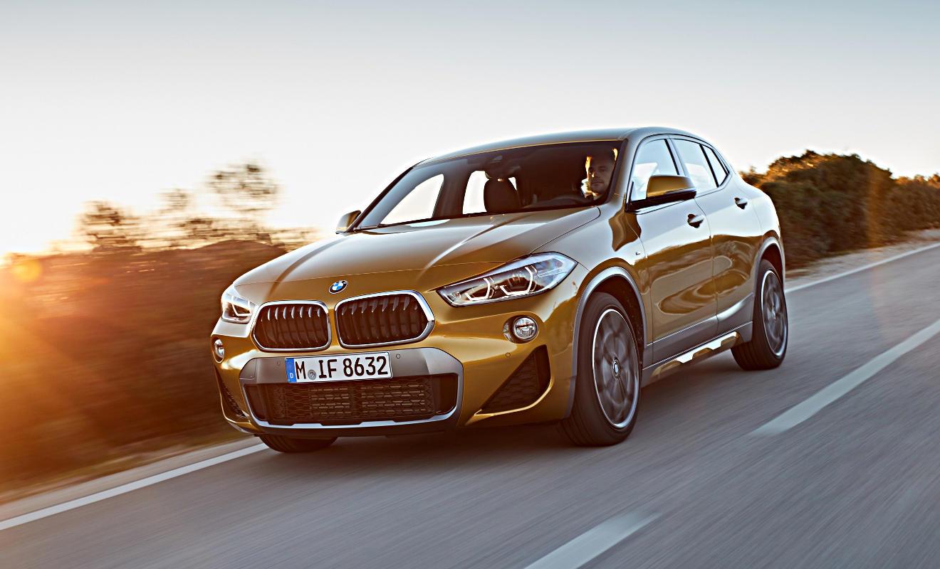 Der neue BMW X2. Foto: BMW