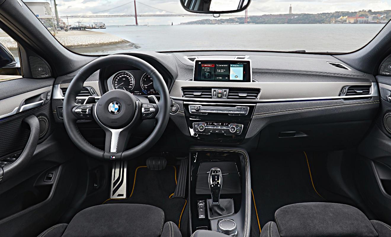 Der Innenraum des BMW X2. Foto: BMW