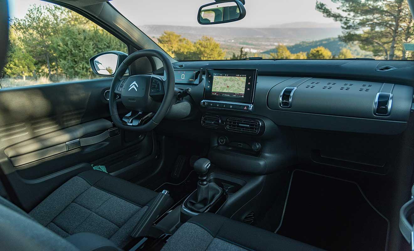 Das Cockpit des C4 Cactus. Foto: Citroen