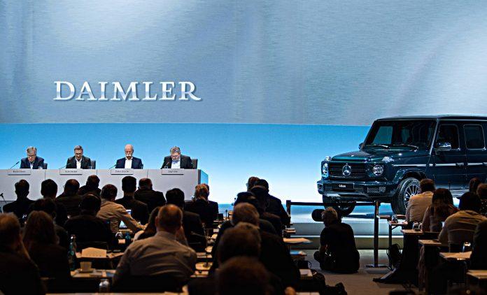 Daimler mit Bestzahlen beim Umsatz. Foto: dpa