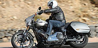 Harley-Davidson Sport Glide. Foto: Harley-Davidson
