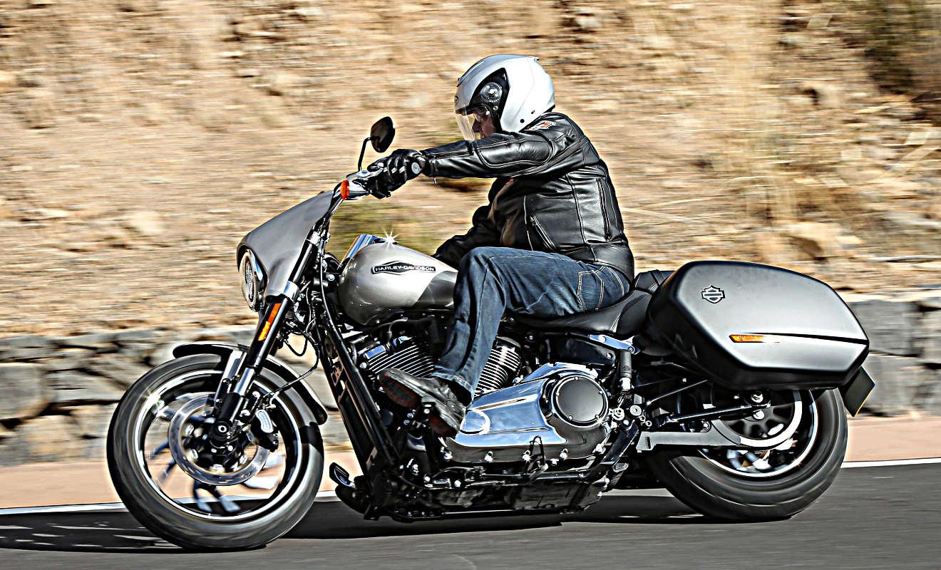 Harley-Davidson Sport Glide: Unerwartet agil - Autogazette.de
