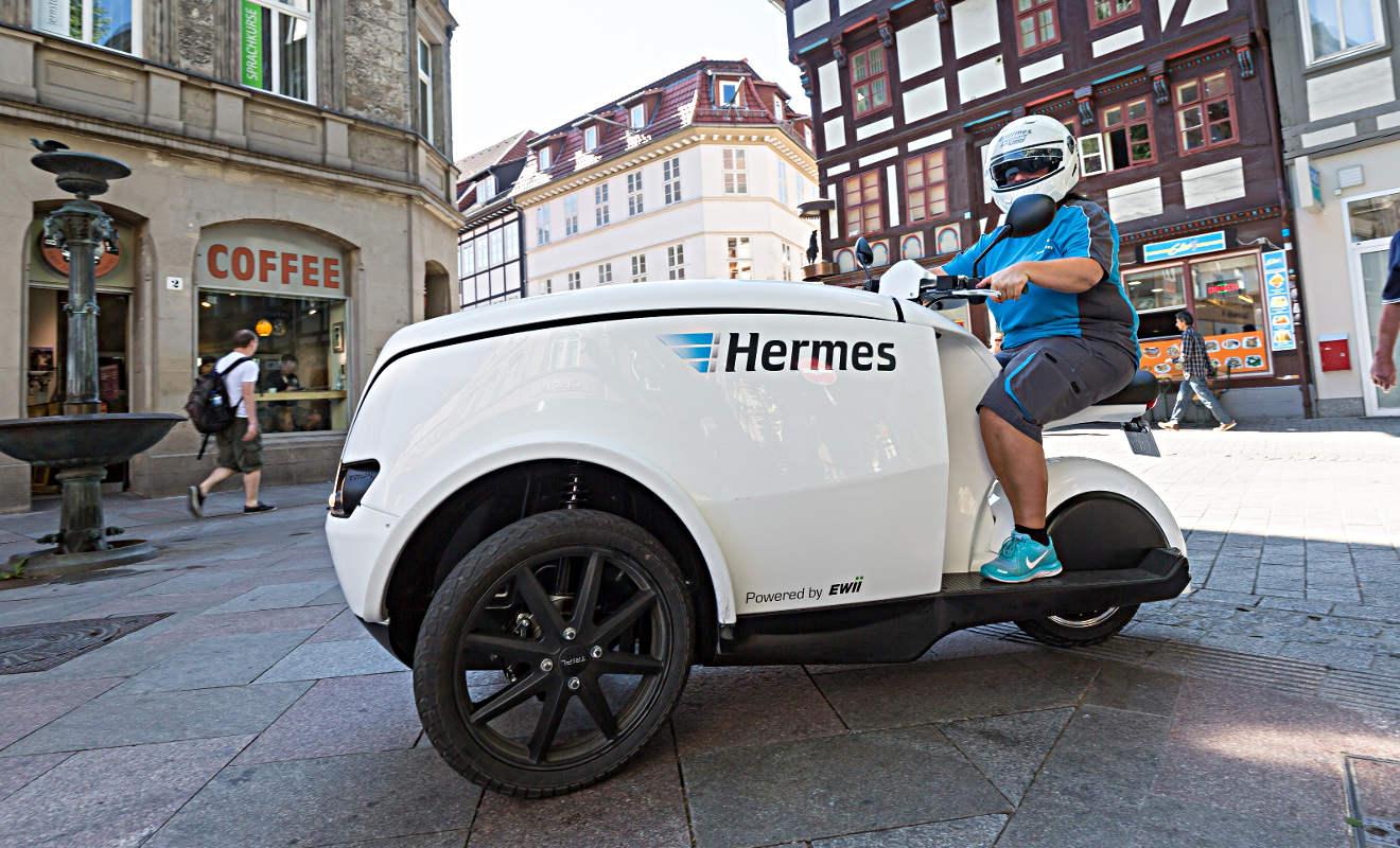 Das TRIPL wird von Hermes in Göttingen getestetet. Foto. Hermes