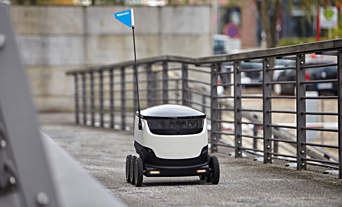 Starship-Roboter. Foto: Hermes