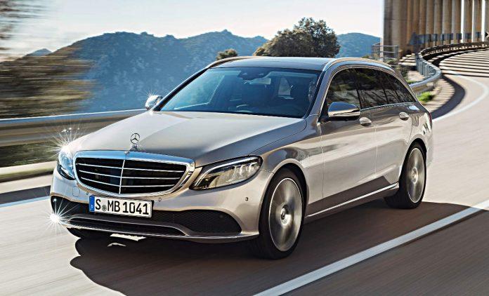 Die neue Mercedes C-Klasse. Foto: Daimler