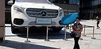Mercedes in China. Foto: dpa