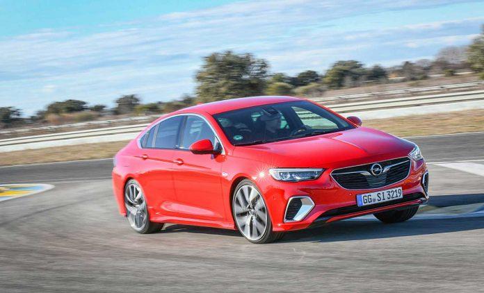 Der Opel Insignia GSi Grand Sport. Foto: Opel