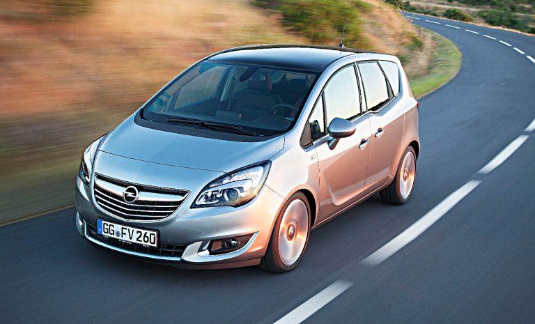 Gebrauchter Opel Meriva mit einigen Auffälligkeiten