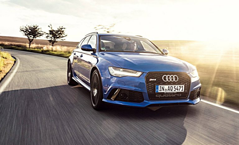 Audi RS6: Sondermodell für Nostalgiker