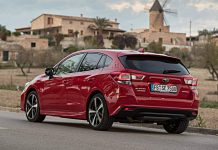 Subaru Impreza. Foto: Subaru