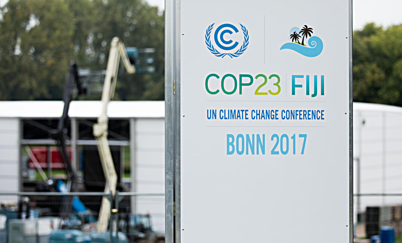 UN-Klimakonferenz. Foto: dpa
