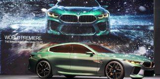 Das BMW M8 Gran Coupé. Foto: BMW