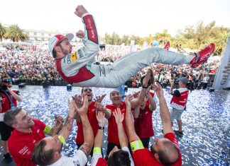 Daniel Abt vom Team Audi Abt Sport Schaeffler. Foto Audi/Kunkel
