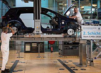 VW E-Golf. Foto: dpa