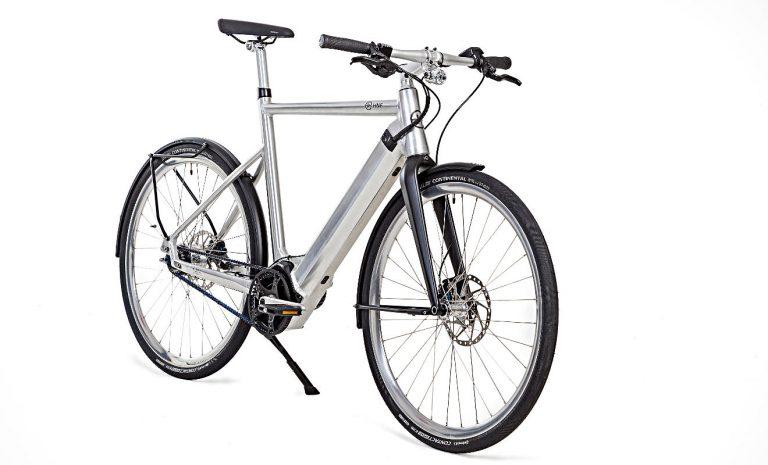 E-Bike SD1: Elektrischer Silberpfeil