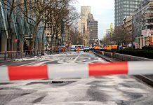 Illegales Autorennen Berlin. Foto: dpa