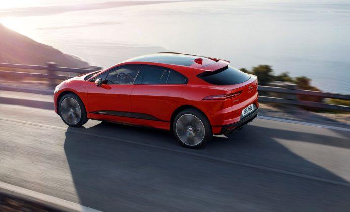 Heck Jaguar I-Pace. Foto: Jaguar