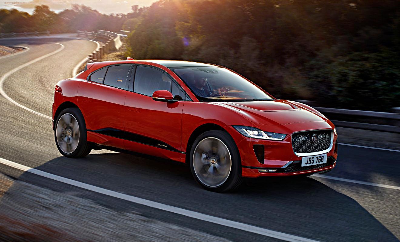 Weltpremiere für Jaguar I-Pace in Graz