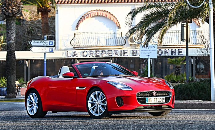 Jaguar F-Type. Foto: Jaguar
