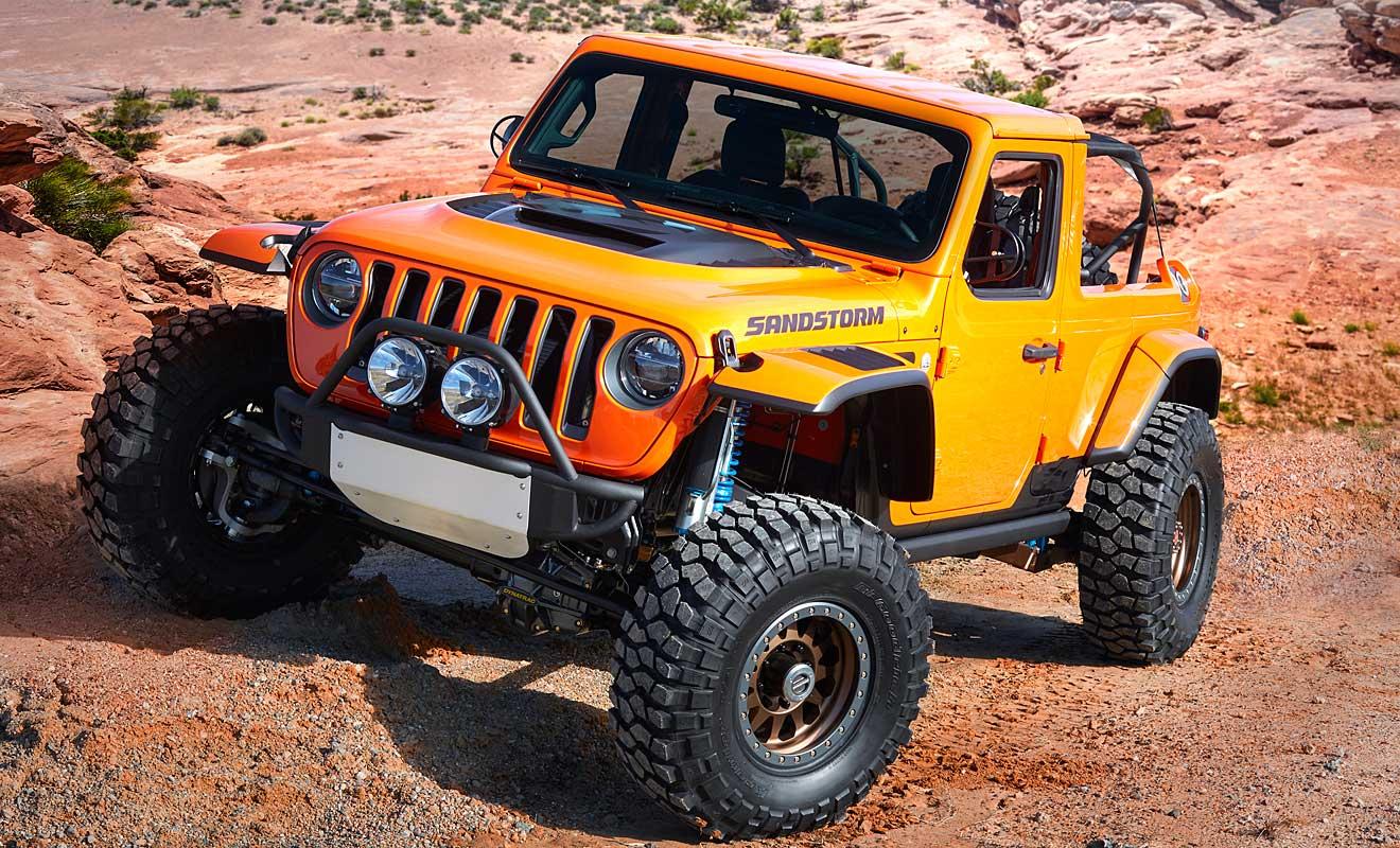 Der Jeep Sandstorm. Foto: Jeep