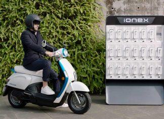 Das Versorgungssystem Ionex. Foto: Kymco