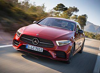 Mercedes CLS. Foto: Daimler