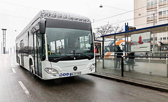 Mercedes Citaro. Foto: Daimler