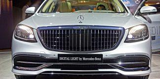 Mercedes bringt Digitallicht. Foto: SP-X