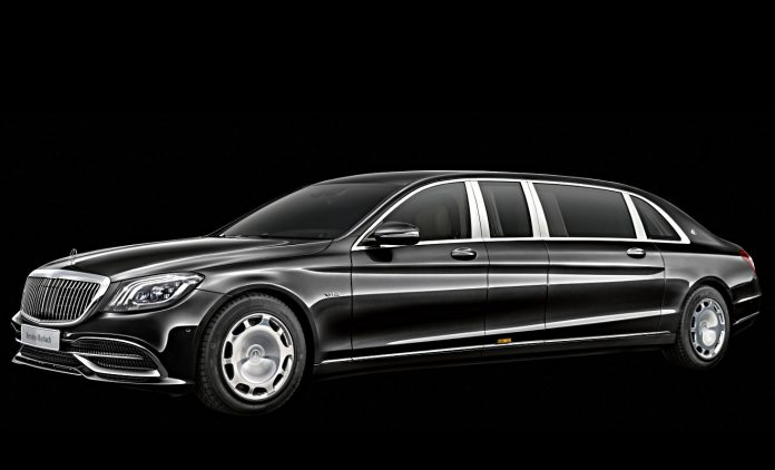 Mercedes-Maybach Pullman. Foto: Daimler