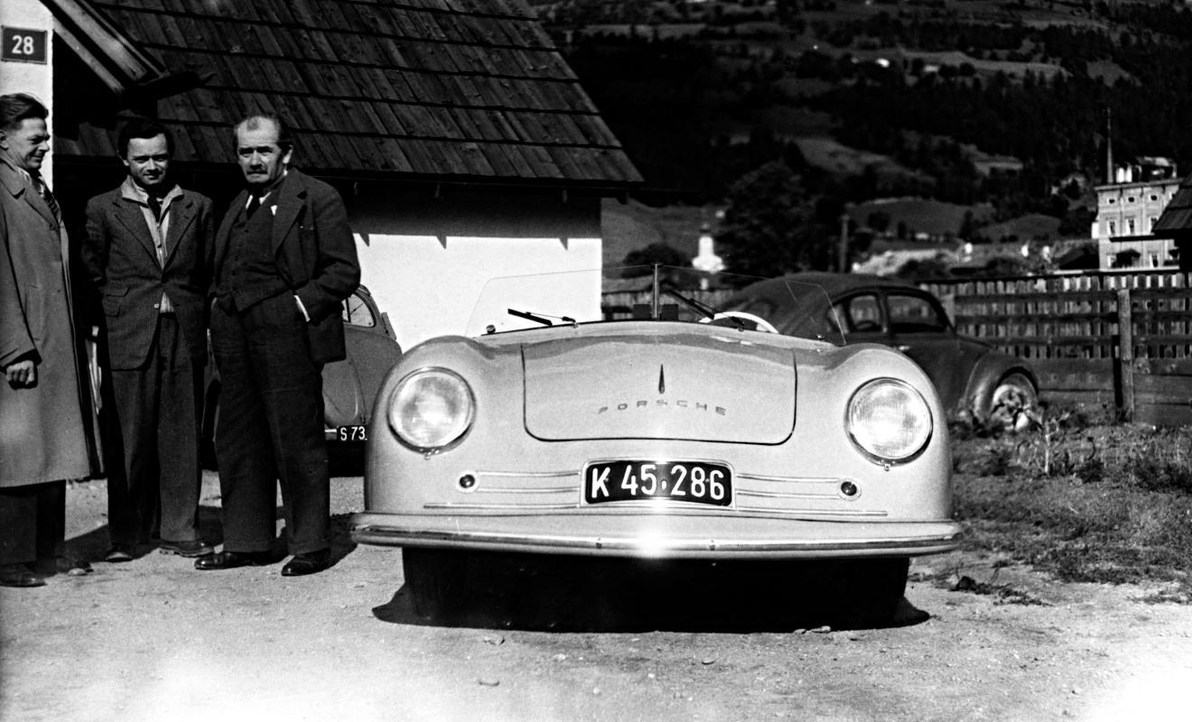 Porsche 356. Foto: Porsche