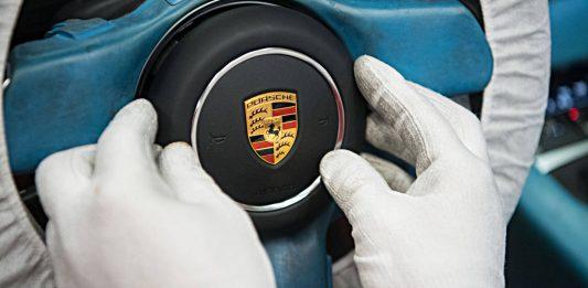 Produktion bei Porsche. Foto: dpa