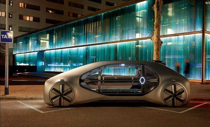 Die Studie EZ-Go. Foto: Renault