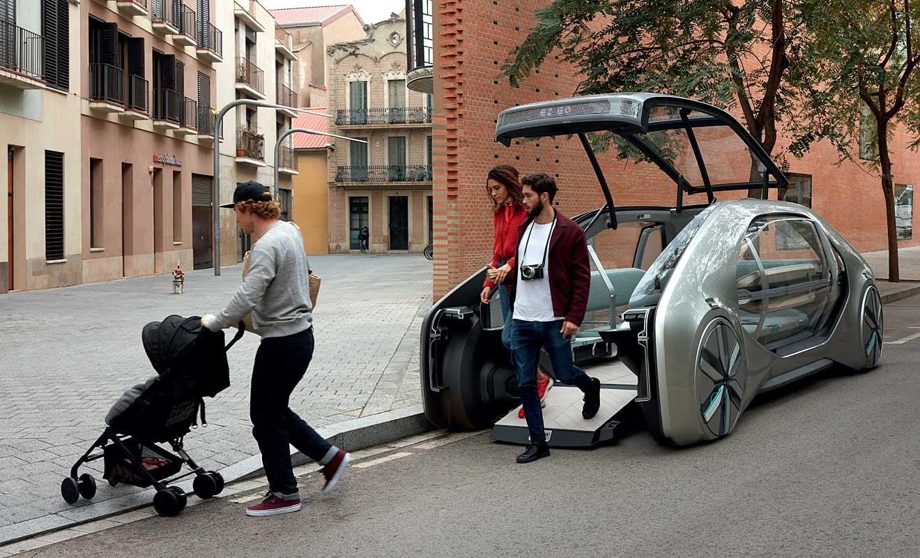 Auch für Rollstuhlfahrer geeignet. Foto: Renault