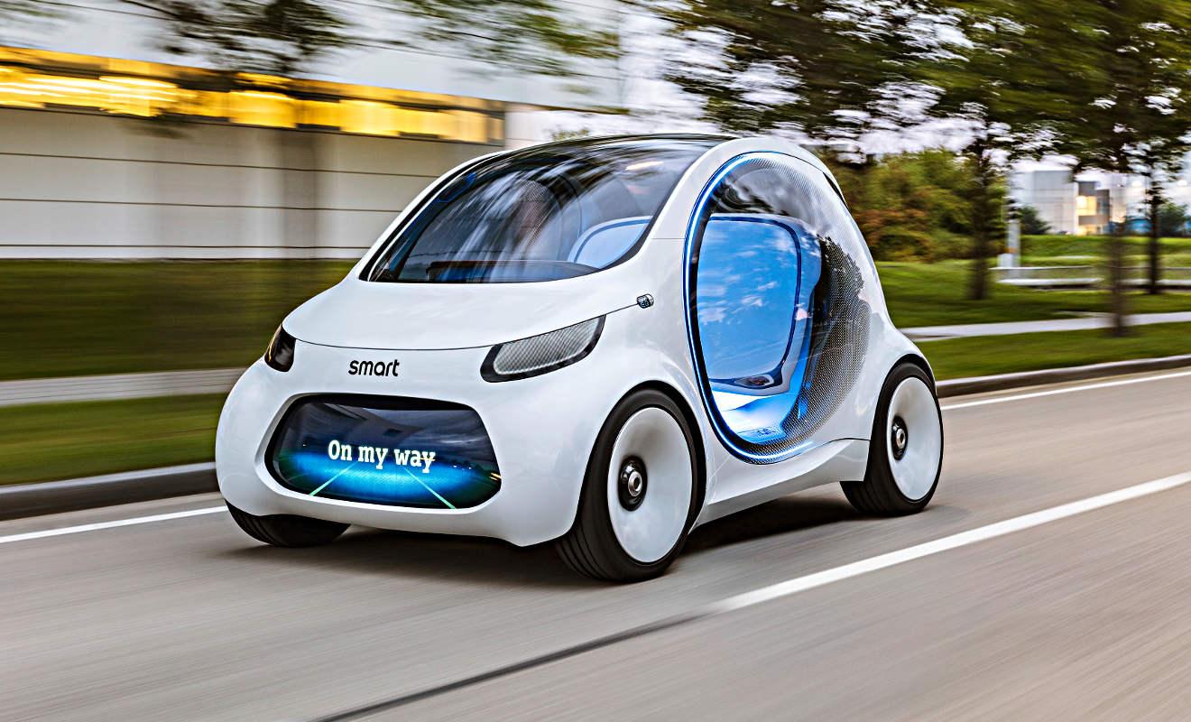 Smart Vision EQ Fortwo. Foto: Daimler