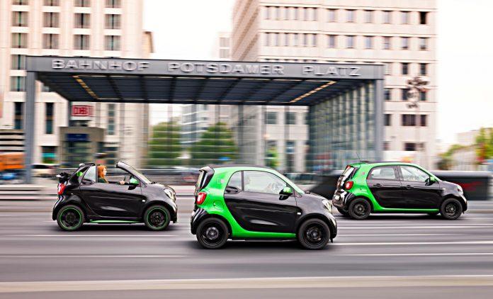 Smart Electric Drive. Foto: Daimler